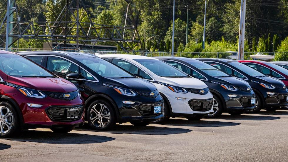 General Motors vill inte att Chevrolet Bolt parkerar nära andra fordon.