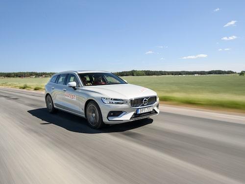 Volvo V60 kostar från knappt 6 000 kronor per månad.