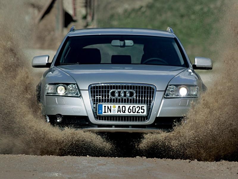 Provkörning av Audi A6 Allroad