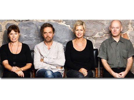 <p>Mischa Billing, Jan Holmstr&ouml;m, Gunilla Hultgren Karell och Magnus Waern.</p>