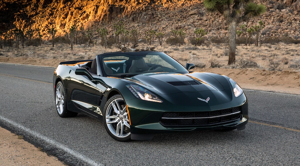 Chevrolet Corvette Stingray Cabriolet 2015