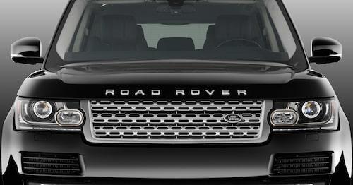 Från Land Rover kommer Road Rover som väntas bli en elektrisk crossover. Observera att bilden är manipulerad.