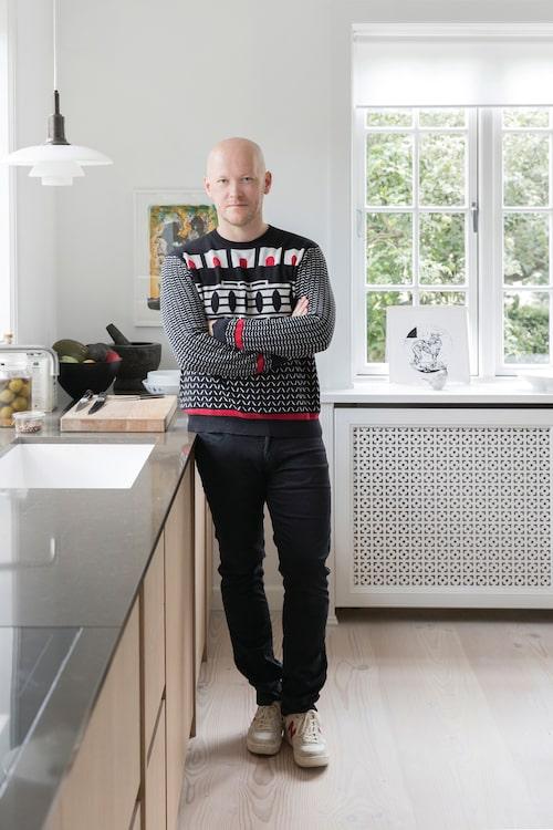 Kocken, krogägaren och tv-domaren Jakob Mielcke.