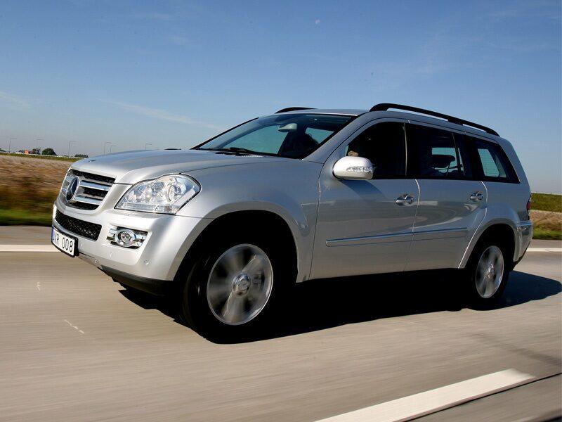 Provkörning av Mercedes GL 420 CDI