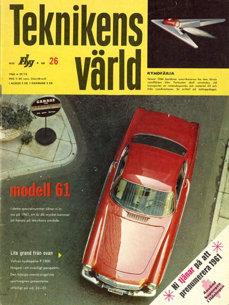 Teknikens Värld nummer 26 / 1960