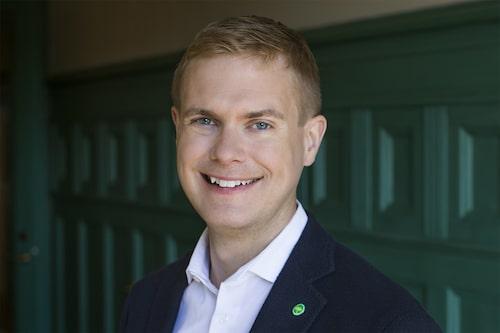 Gustav Fridolin, språkrör för MP och regeringens utbildningsminister.