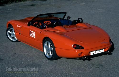 Originalet, JC Indigo 3000, testade vi i Teknikens Värld nummer 21/1996.