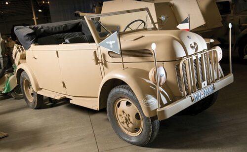 1944 Steyr 1500A/01 4x4 Kfz Kommandobil