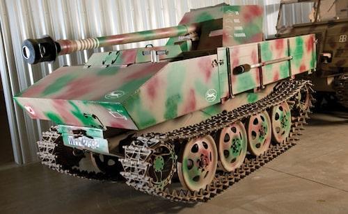 1944 Steyr 7.5-cm Pak 40/4 RSO helband