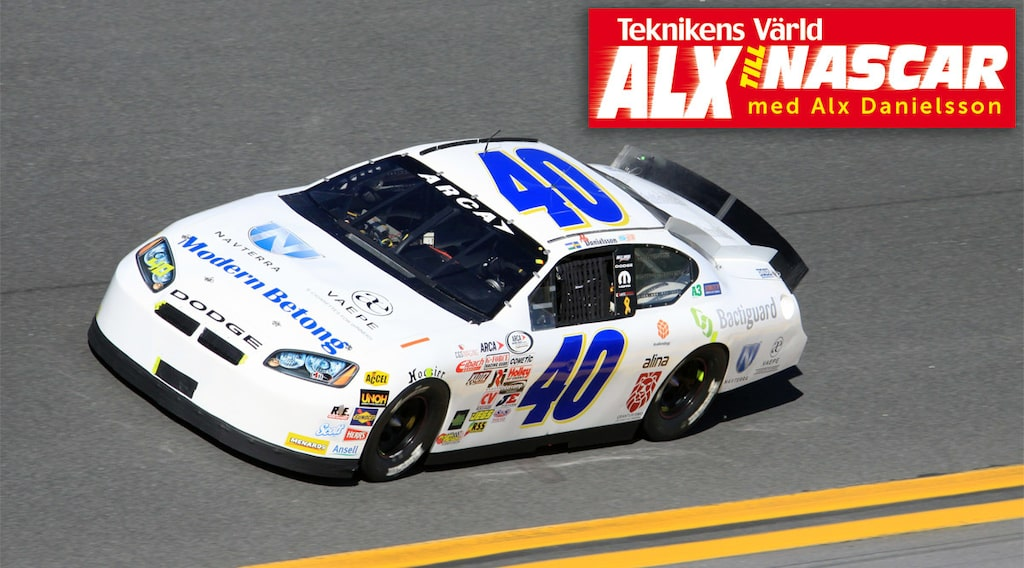 Alx Danielsson NASCAR Daytona