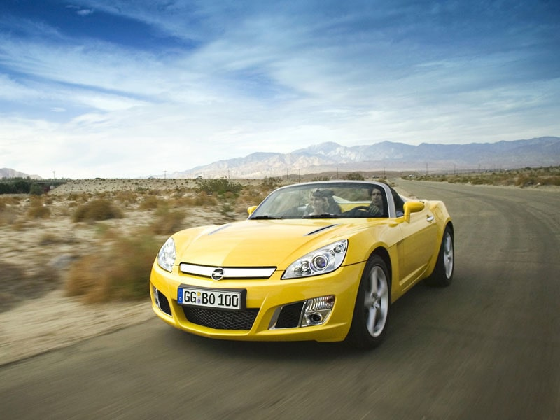 Provkörning av Opel GT