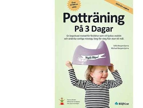 """Sofia och Michael Bergenstjerna har beskrivit sin potträningsmetod i boken """"Potträning på 3 dagar""""."""