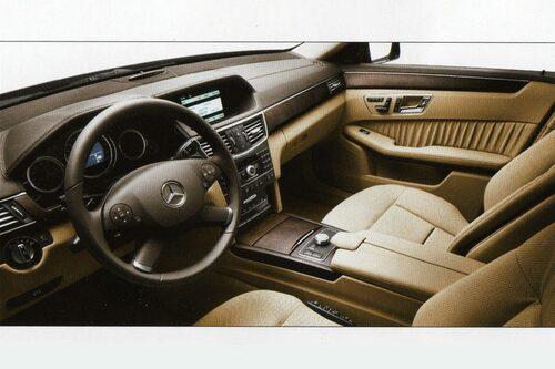 Mercedes E-klass med Eklusiv-paket.