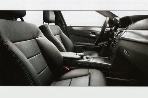 Mercedes E-klass med AMG-paket..
