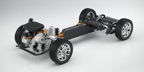 Utvecklingen av Volvos nya, mindre plattform CMA, engagerar många ingenjörer.