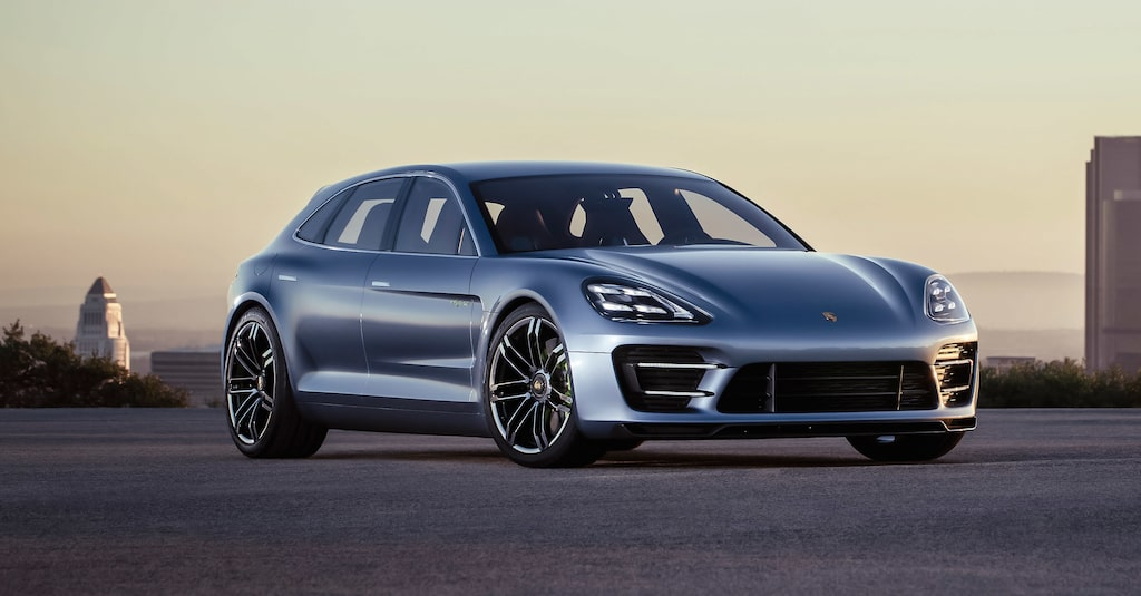 Porsche Panamera Sport Turismo Concept.