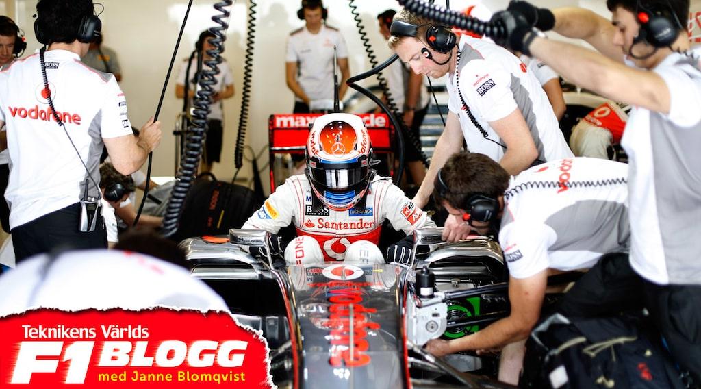 Kevin Magnusson i McLaren