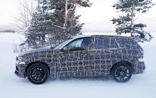 Svårt att föreställa sig, men nya BMW X5 sägs bli sjusitsig. Vi räknar dock inte med att nya X5 M erbjuds med fler än fem sittplatser.