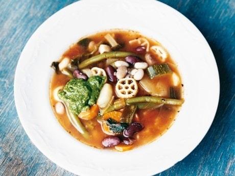 Recept på bönans soppa med pistou.
