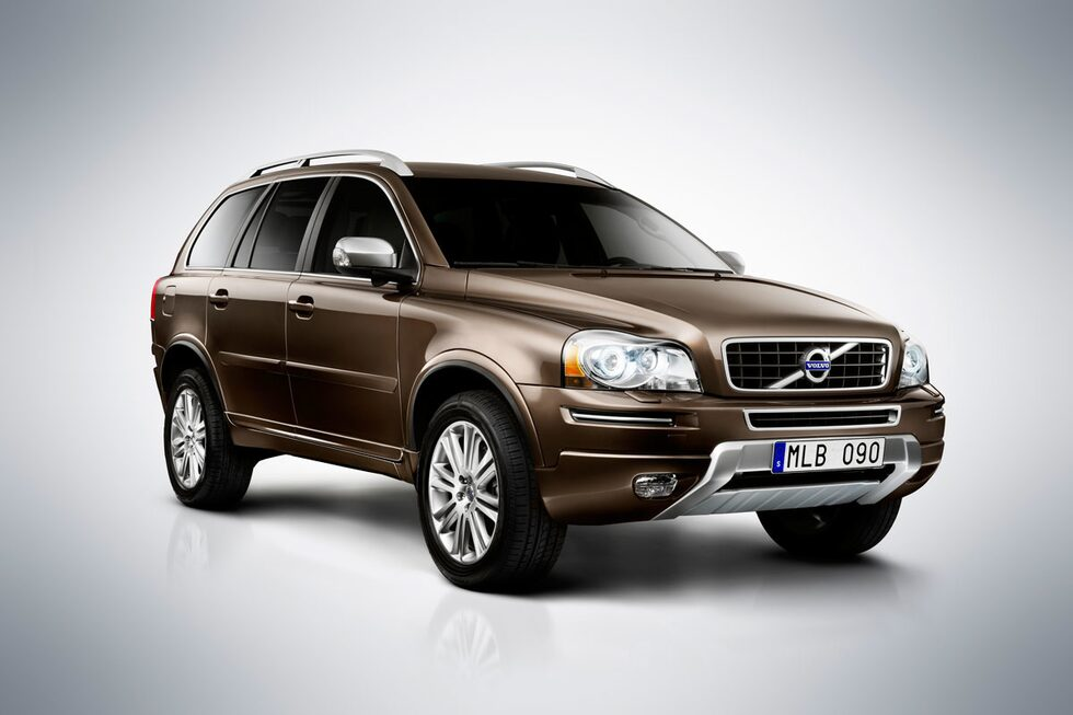 Volvo XC90 facelift 2012