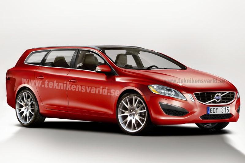 På en framtida marknad, med krympande bilstorlekar, blir V60 en mycket viktig modell för Volvo.