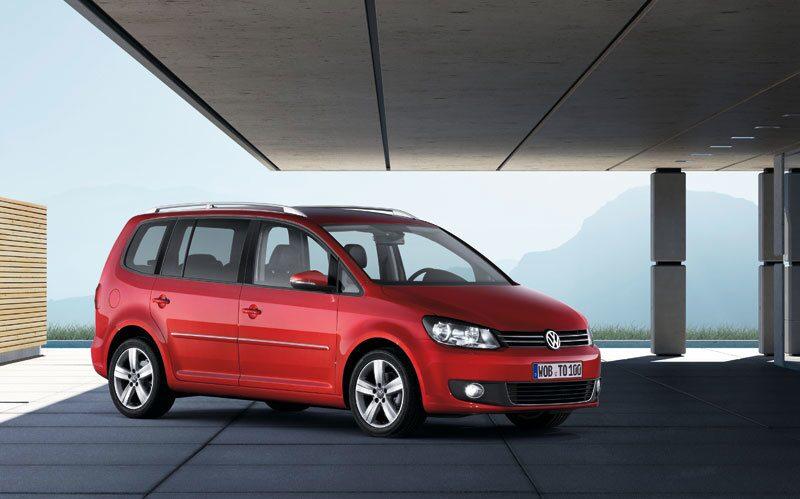 Provkörning av Volkswagen Touran 1,4 TFSI