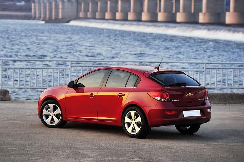 Chevrolet Cruze hatchback/halvkombi