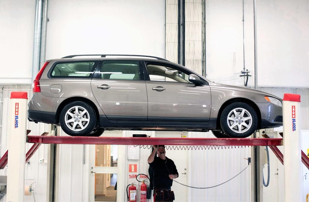 Bilen/verkstaden är inte samma som de som det skrivs om i artikeln.