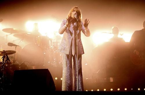 Florence & The Machine på scen.