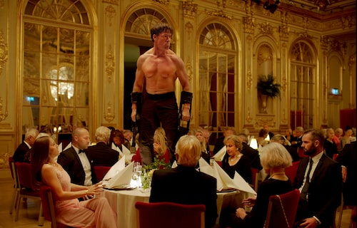 En nyckelscen i Ruben Östlunds prisvinnande film The Square.