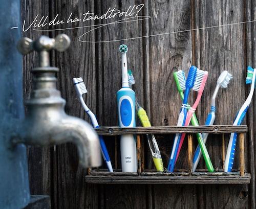 Har tandborstning någonsin varit okomplicerat?