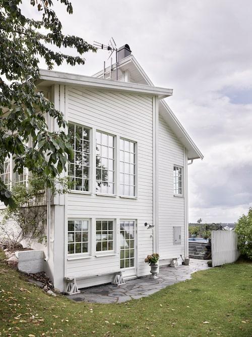 När familjen skulle bygga nytt föll valet på en suterrängvilla från Villa Nordic.