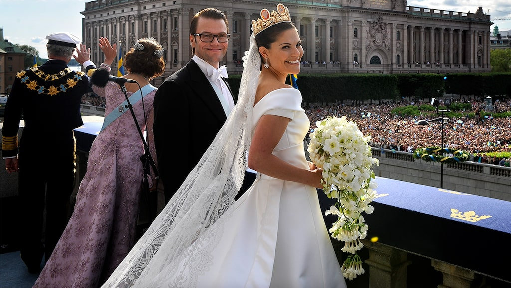 Tioårsjubileum av kronprinsessbröllopet mellan kronprinsessan Victoria och prins Daniel.