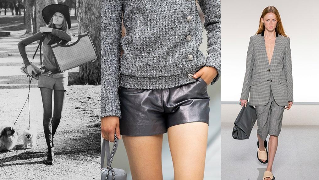 Shortsen har kommit i många olika färger, former och material genom åren.