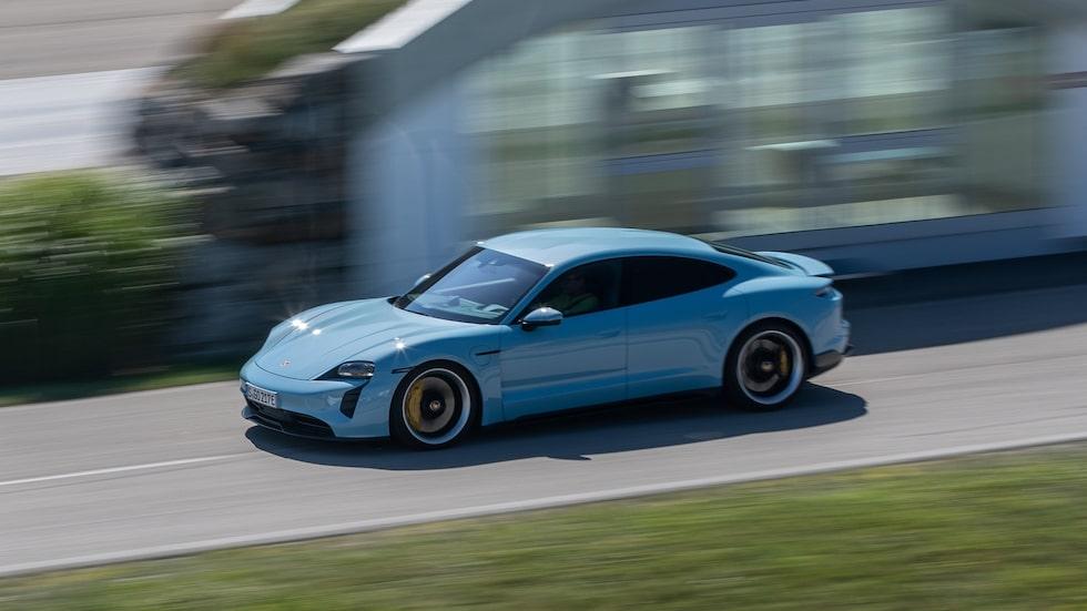 Porsches elbil Taycan.