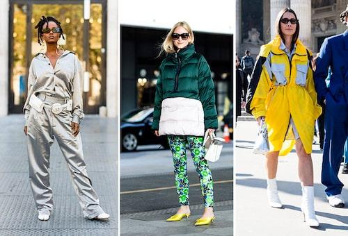 Se till att synas i mörkret –snygga reflexdetaljer eller partier på kläder är ett smart knep. Inspireras av modeproffsen!
