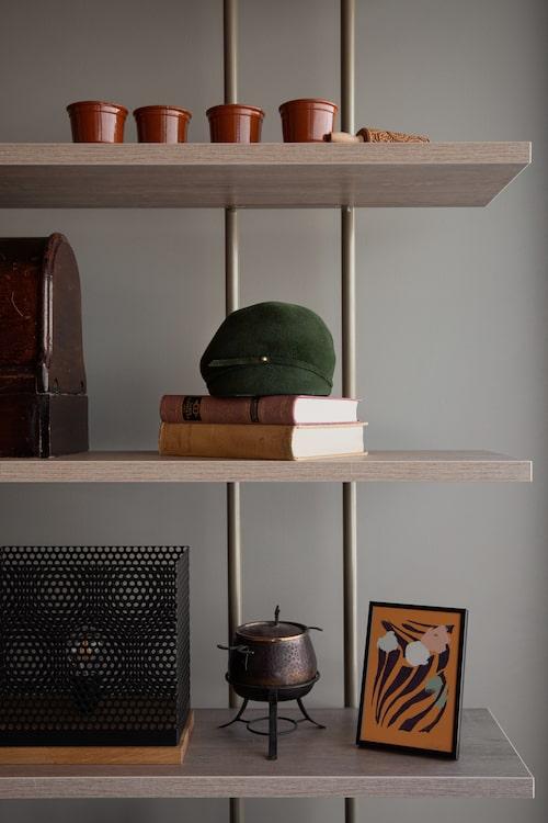 """""""Hatten från 50-talet är ett vintagefynd från Saint Tropez."""""""