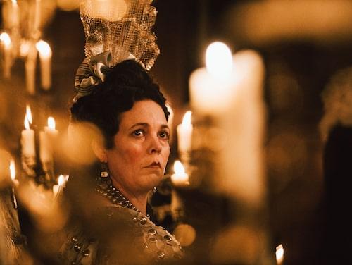 Olivia Colman ann en Golden Globe för sin roll som drottning Anne i The favourite.
