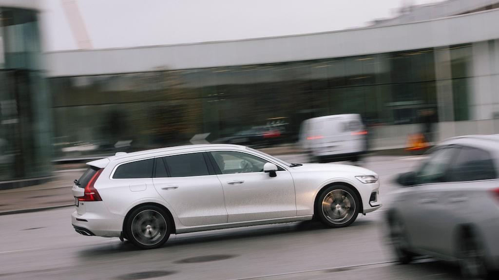 Volvo V60 passar perfekt som laddhybrid.