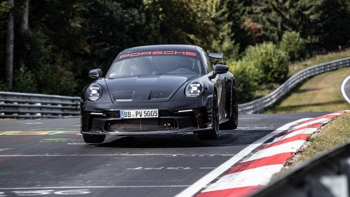 Porsche 911 GT3 är numera under sju minuter på Nürburgring.