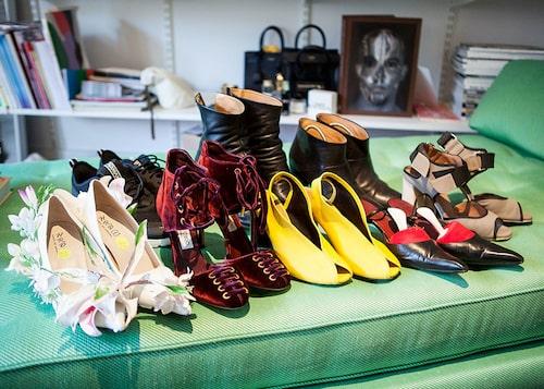 """Mötesskor är något Karina Ericsson Wärn försöker investera i: """"Rätt skor stärker mig."""""""