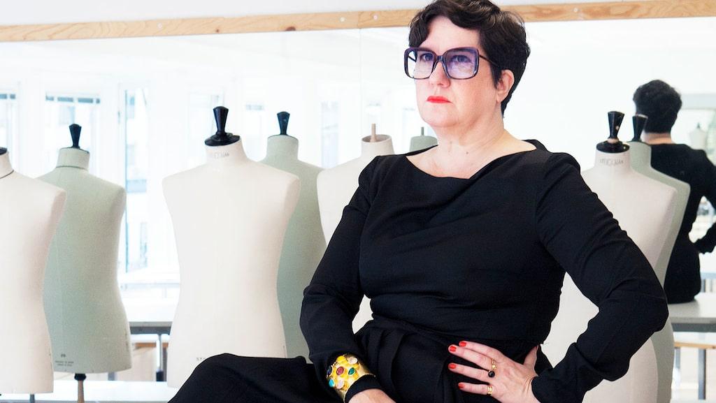 Karina Ericsson Wärn, rektor på Beckmans designhögskola, om sin stil.