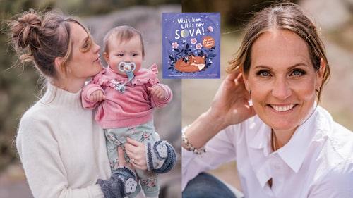 """Sömncoachen Hanna Bergenkull, författare till """"Visst kan Lillis räv sova!"""", vet det mesta om barns sömn."""