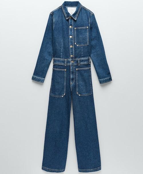 Jumpsuit av bomull/polyester/elastan från Zara.