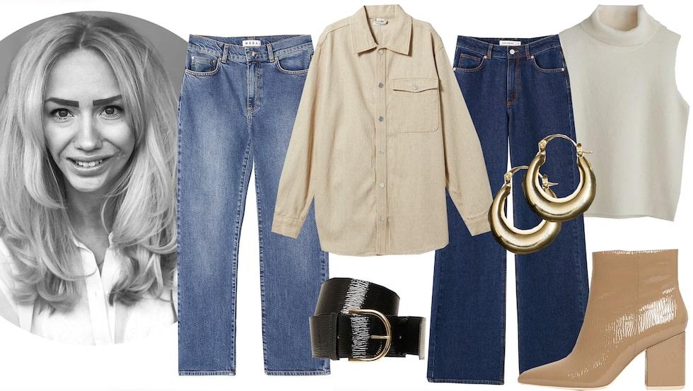 Jeans och denimplagg till budgetpris!