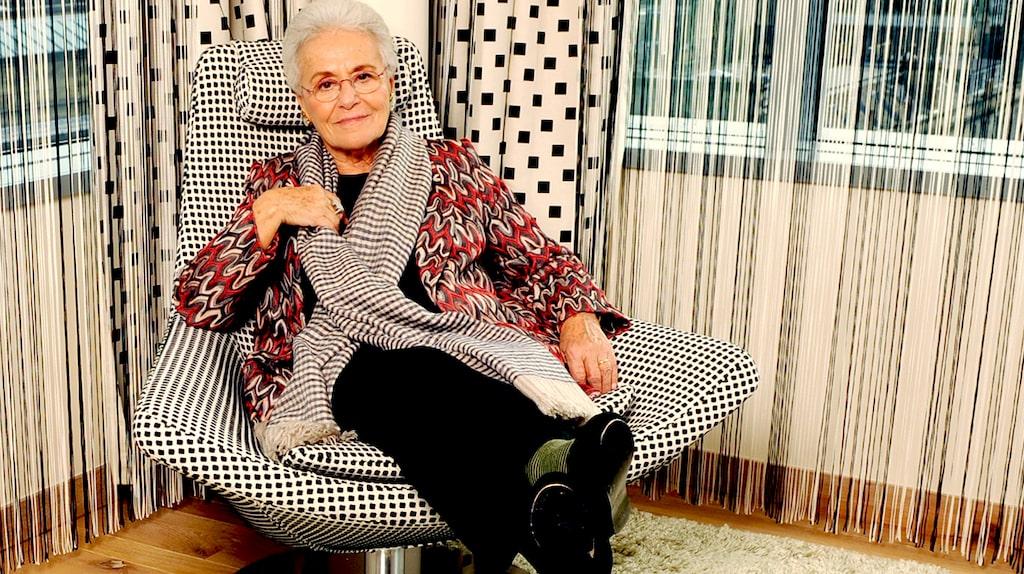 Rosita Missoni styr fortfarande modeimperiet Missoni, vid 88 års ålder.