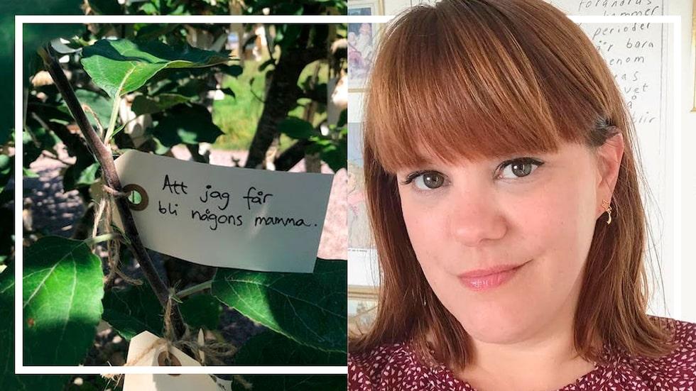 """""""Jag har tappat räkningen på hur många Instagram-bilder på växande magar och 'till mamma'-teckningar som jag snabbt har scrollat förbi """", skriver mama-läsaren Jessica."""
