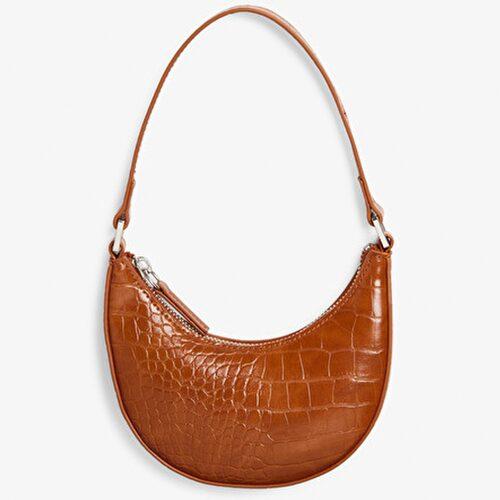 Miniväska i krokopräglat fuskskinn från Monki. Klicka på bilden och kom direkt till väskan.
