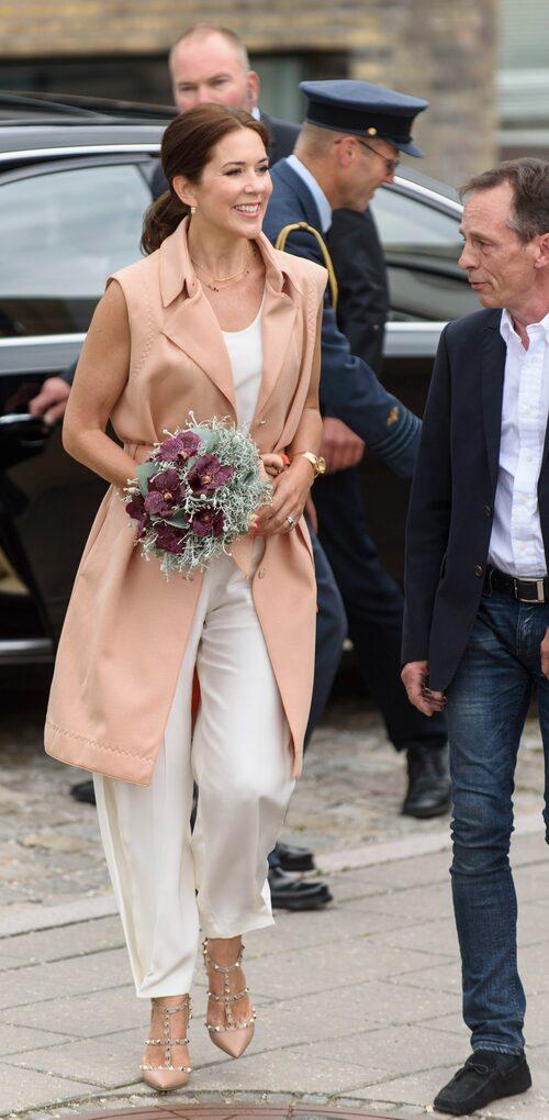 Mary på Köpenhamns modevecka 2015.