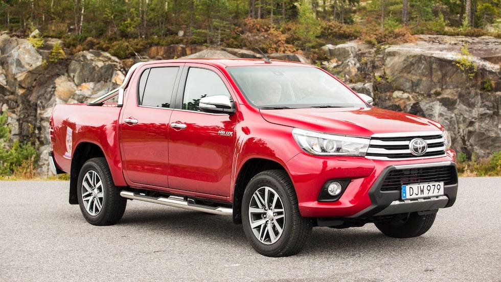 Toyota Hilux är en tålig och samtidigt bekväm pickup, men se till att den du köper är uppdaterad.
